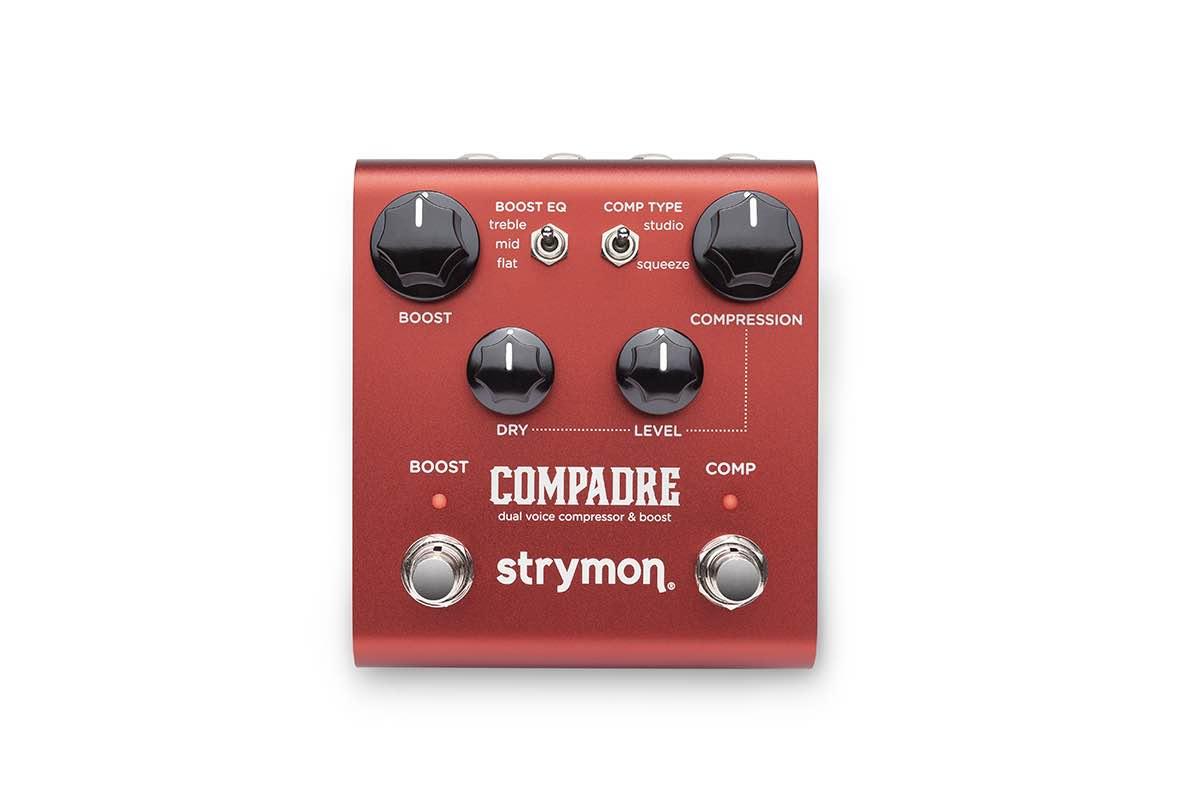 Strymon Compadre pedale stompbox stomp pedaliera fx comp vca chitarra guitar backline strumenti musicali