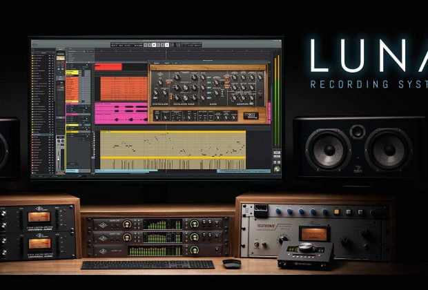 Universal Audio LUNA daw software virtual plug-in unison mix record producer music andrea scansani test audiofader recensione distributore italia manual plugin