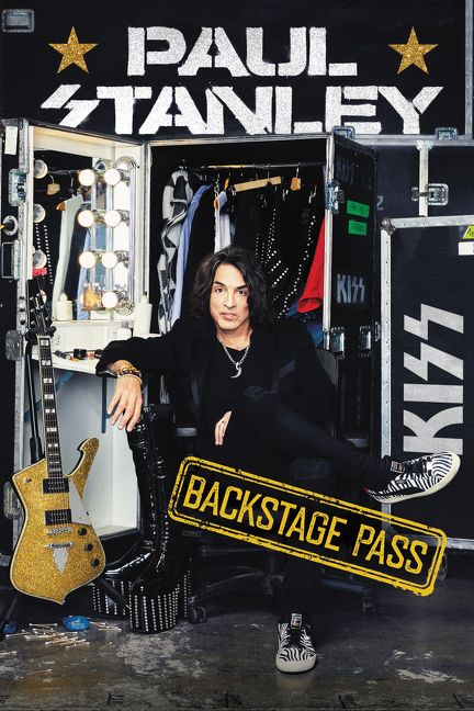 paul stanley backstage pass strumenti musicali