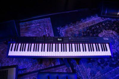 roland rd-88 stage keyboard piano hardware supernatural tasti pesati digitale midi 88 tasti synth riccardo gerbi strumenti musicali