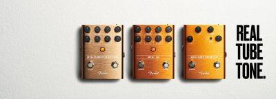Fender MTG pedals chitarra guitar fx hardware stompbox tube valvolare strumenti musicali