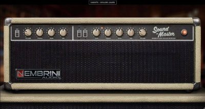 Nembrini Audio Sound Master plug-in audio amp fender fx virtual software daw chitarra guitar strumenti musicali
