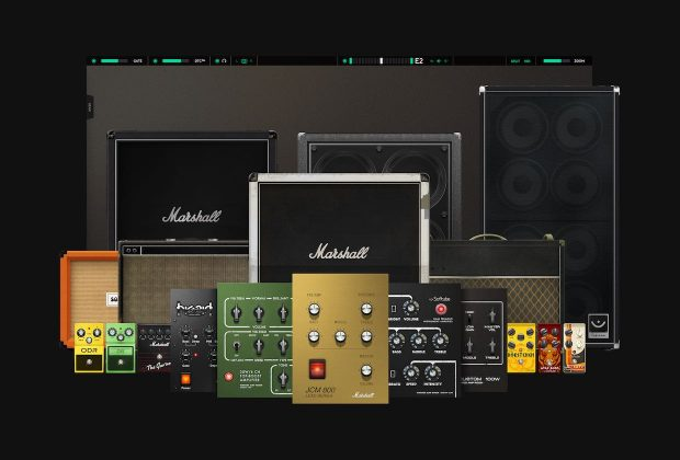 Softube Amp Room marshall cabinet collection fx guitar chitarra virtual plug-in audio midiware rig amp strumenti musicali