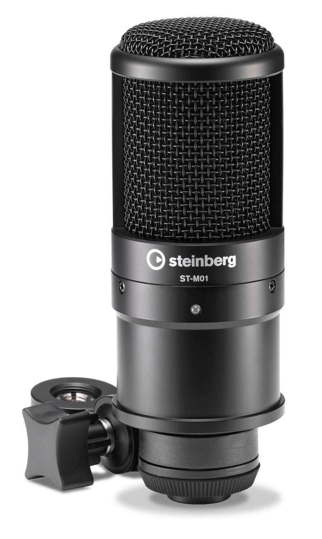 Steinberg ST-M01 mic condensatore condenser rec studio vox producer music strumenti musicali