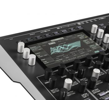 Waldorf Iridium synth hardware digital music producer desktop rackmount quantum rackmount format sounds soundwave strumenti musicali