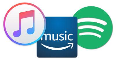 servizi streaming strumenti musicali