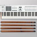 Arturia Power Trio Bundle KeyLab 88 MkII V Collection 6 Wooden Legs midiware strumenti musicali
