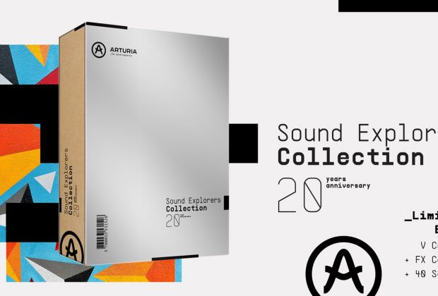 Arturia Sound Explorers Collection v-collection fx-collection sound bank strumenti musicali midiware producer virtual