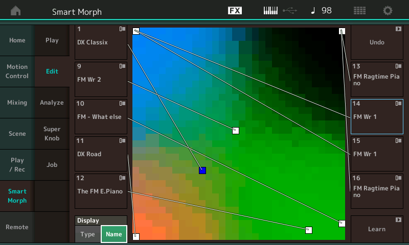 yamaha montage modx programmazione fm luca pilla audiofader