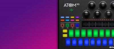 PreSonus Atom SQ pad controller hardware midi producer midi music performance performer live dj ableton studio one strumenti musicali