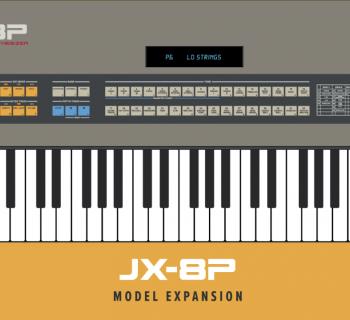 rolandcloud model expansion jx8p virtual instrument synth sintetizzatore zenology strumenti musicali