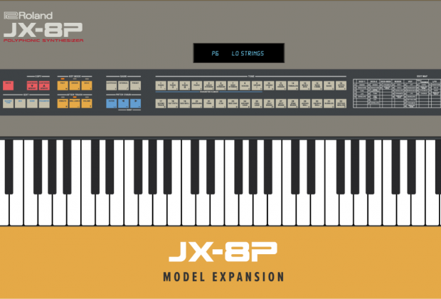 rolandcloud model expansion jx8p virtual instrument synth sintetizzatore zenology strumenti musicali