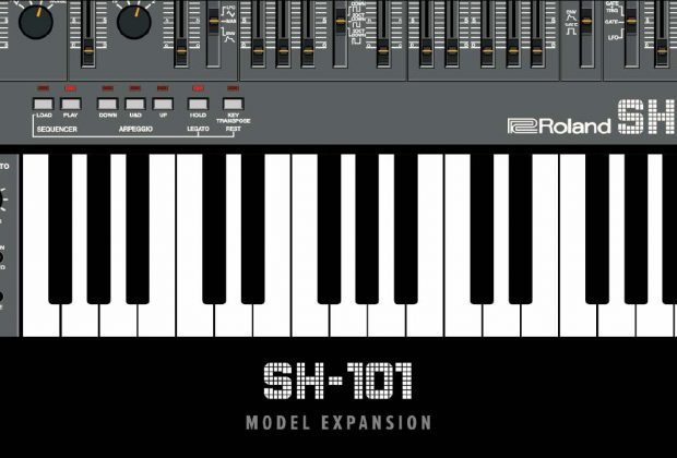 RolandCloud Zenology-SH-101 model expansion virtual soft synth sintetizzatore roland strumenti musicali