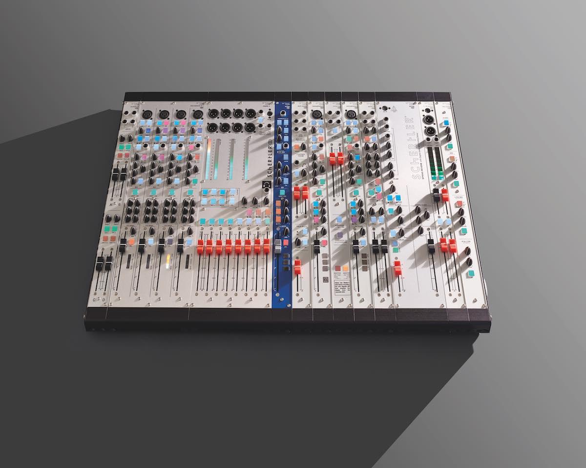 Schertler Arthur format 48 mixer modular audio pro studio rec live analog aramini strumenti musicali