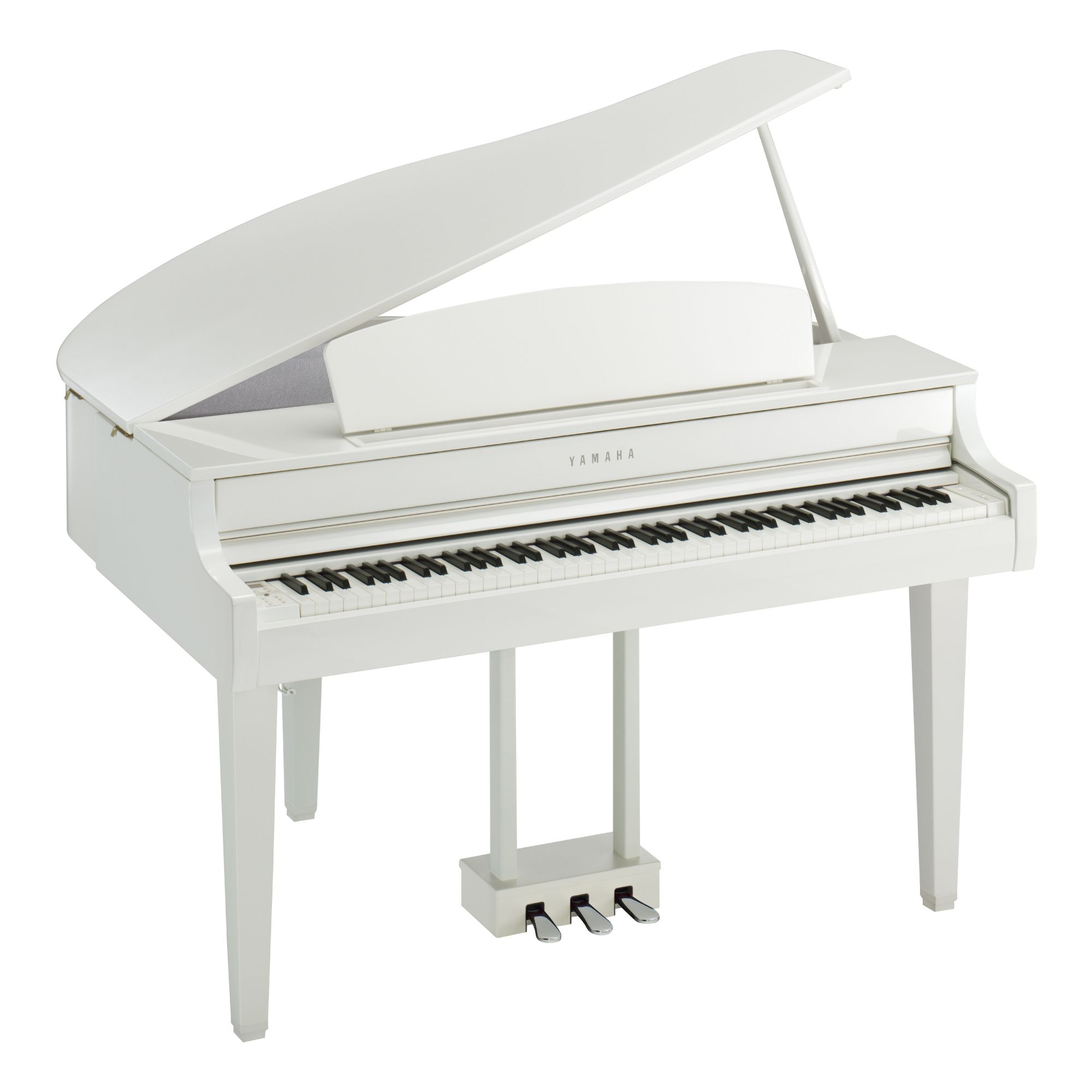 Yamaha CLP-765GP polished white Clavinova CLP700 stage digitale keyboard home piano mezza coda muro strumenti musicali