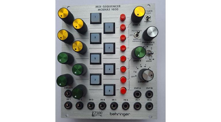 behringer arp 2500 module 1050 mix sequence smstrumentimusicali