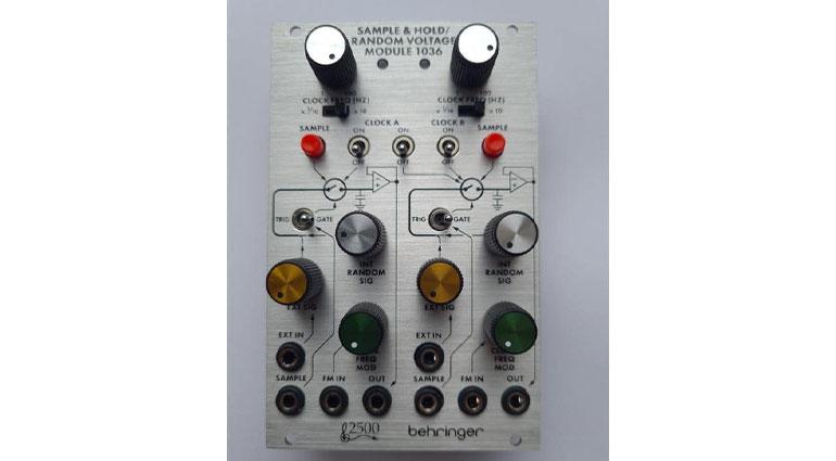 Behringer 2500 Module 1036 Sample & Hold