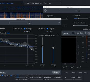iZotope RX Elements suite sound design audio restore midiware audiofader