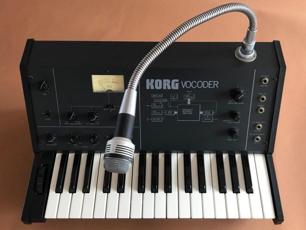 korg vc10 strumenti musicali