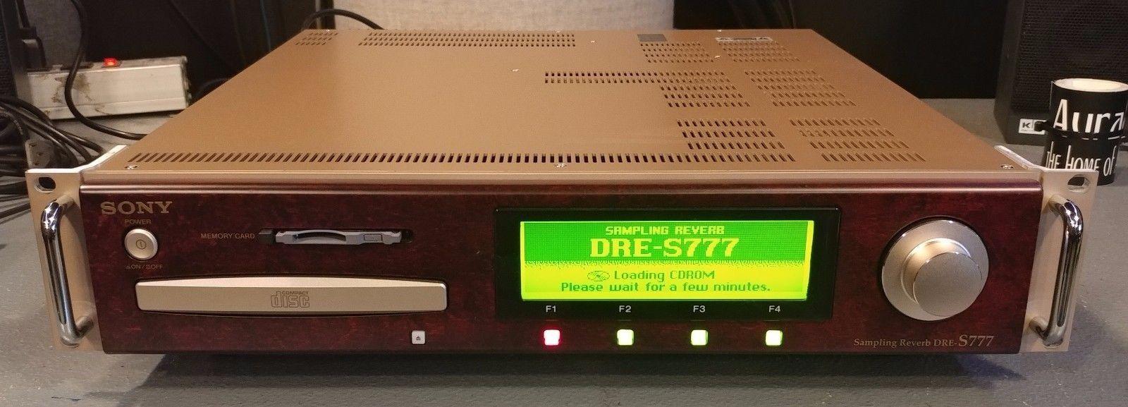 Sony DRE S777 riverbero strumenti musicali