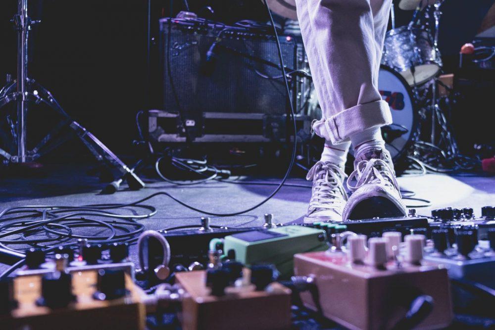 stage pedalboard strumenti musicali