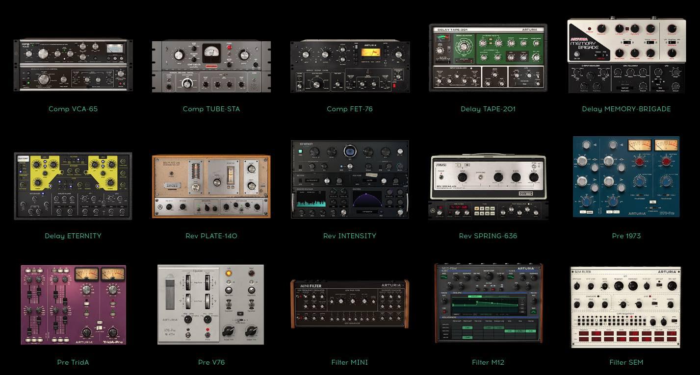 Arturia plug-in audio sconti estate summer mix music producer midiware strumenti musicali