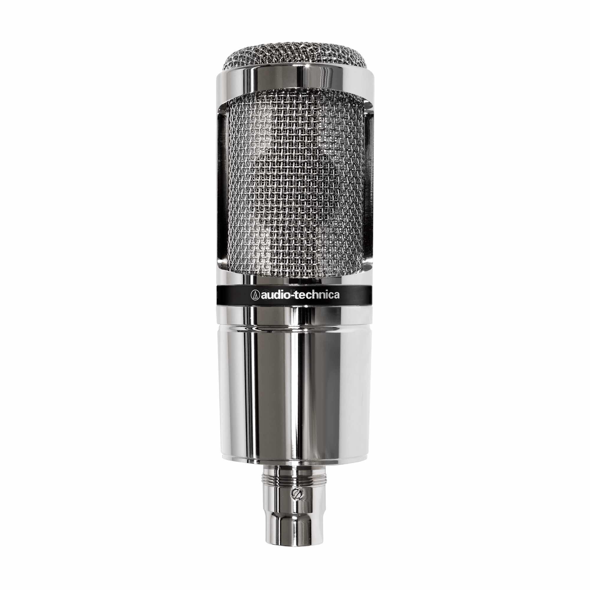 Audio-Technica AT2020 mic recording home studio sisme strumenti musicali