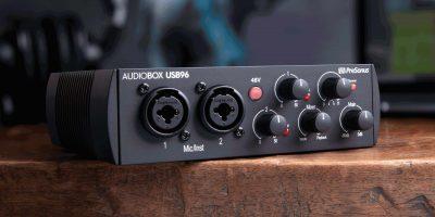 PreSonus Audiobox 96 25th Anniversary Edition interfaccia audio midi usb home recording studio midi music strumenti musicali
