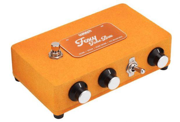 Warm Audio Foxy Tone Box midiware chitarra guitar stompbox fuzz strumenti musicali
