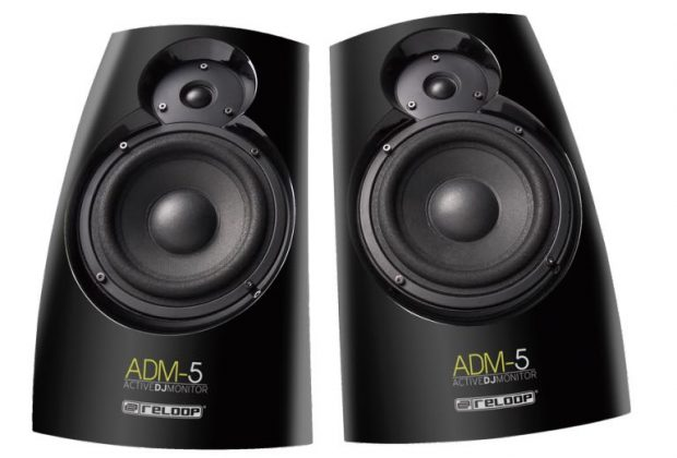 reloop ADM-5 studio monitor home dj producer audio soundwave strumenti musicali prezzo