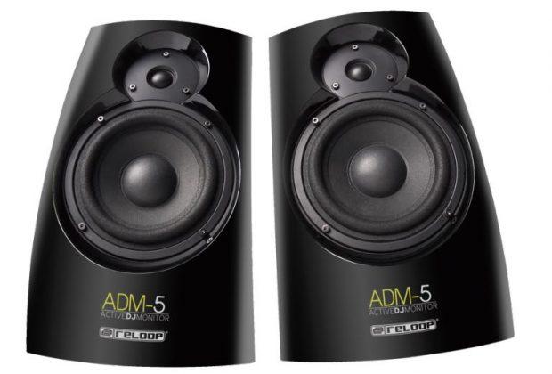 reloop ADM-5 studio monitor home dj producer audio soundwave strumenti musicali prezzo