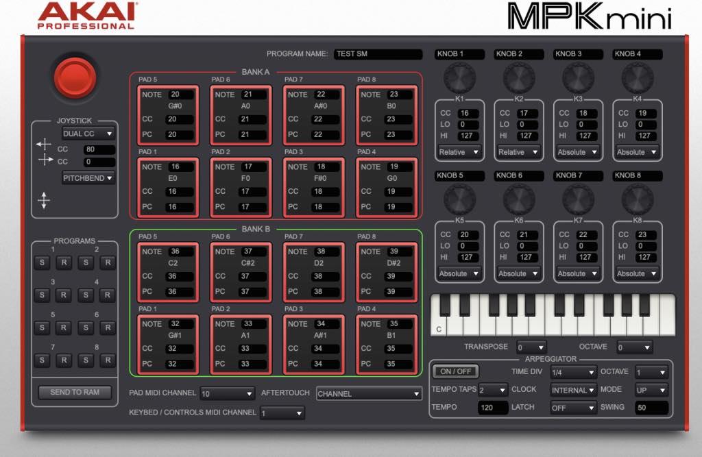 Akai MPK Mini MK3 algam eko music producer keyboard midi portatile usb strumenti musicali editor software prezzo