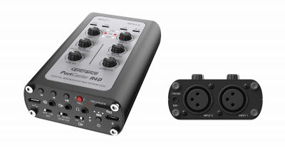 CEntrance PortCaster hardware studio live pro audio recording rec interfaccia player mobile iOS android macosx windows strumenti musicali