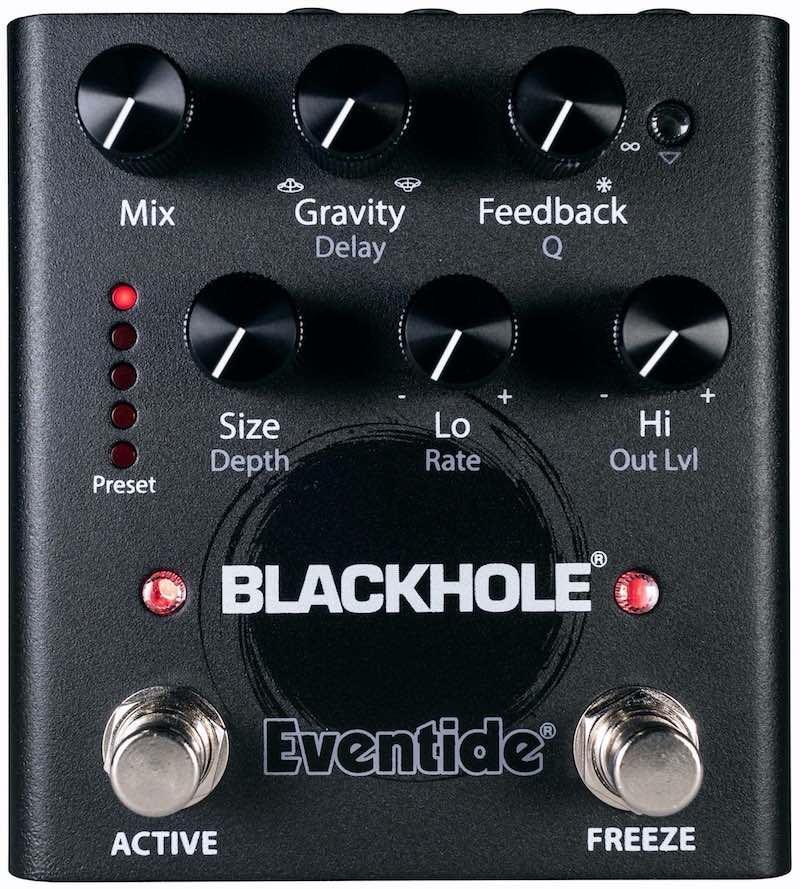 Eventide Blackhole Pedal riverbero fx hardware stompbox pedaliera guitar chitarra mogar strumenti musicali prezzo