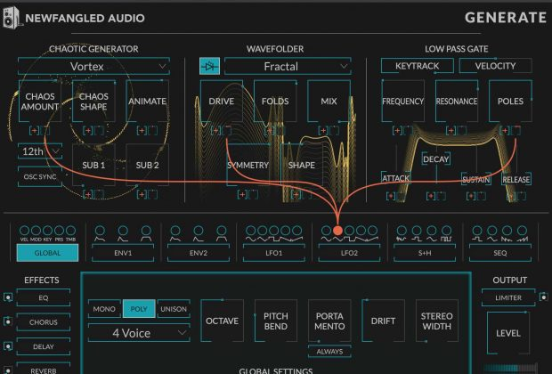 Eventide Newfangled Audio Generate plug-in pro synth producer mixing mix strumenti musicali