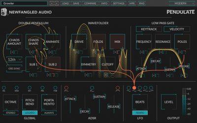 Eventide Newfangled Audio Pendulate plug-in software synth tool virtual daw windows mac gratis free freeware strumenti musicali