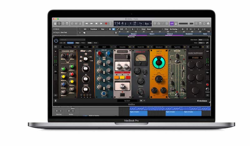 Ik Multimedia MixBox software plug-in audio pro mixing mix virtual daw strumenti musicali t-racks