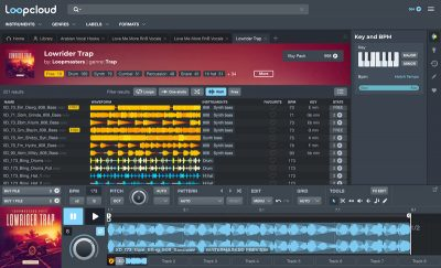 Loopcloud 5.2 loopmasters virtual instrument sample library producer dj strumenti musicali