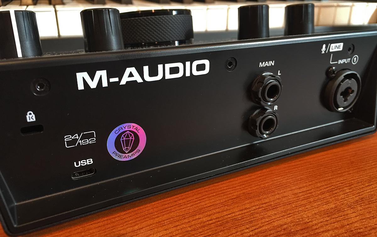 M-Audio Air 192-4 strumenti musicali