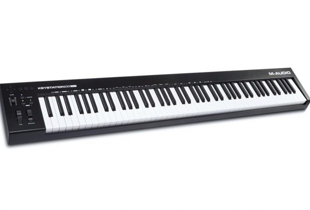 M-Audio Keystation 88 MK3 soundwave tastiere keyboard master controller MIDI producer music strumenti musicali