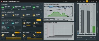 Melda Production MSpectralDynamicsLE software plug-in audio pro mix virtual strumenti musicali dynamic
