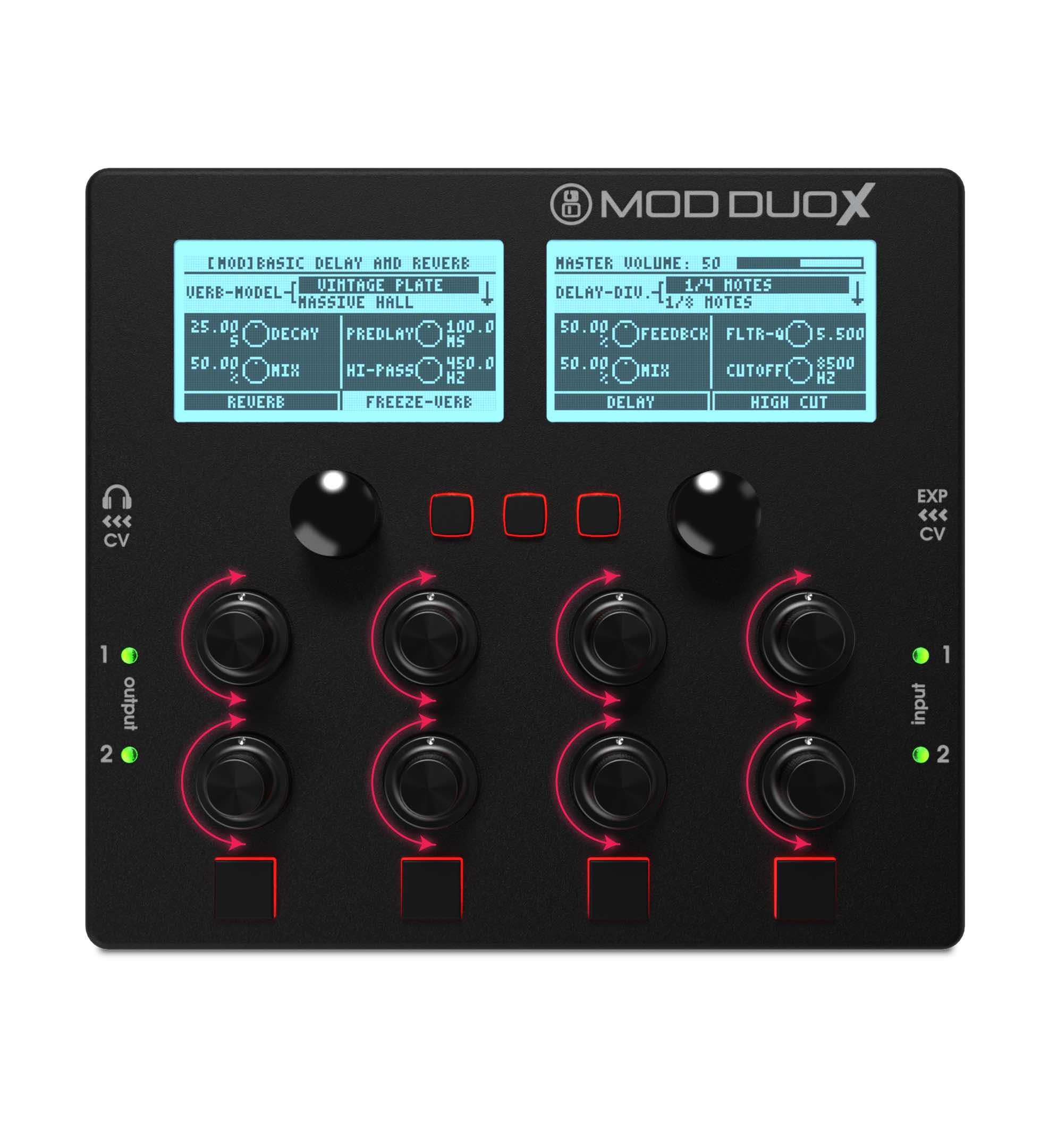 mod devices Mod Duo X controller produzione production music dj djing studio live strumenti musicali
