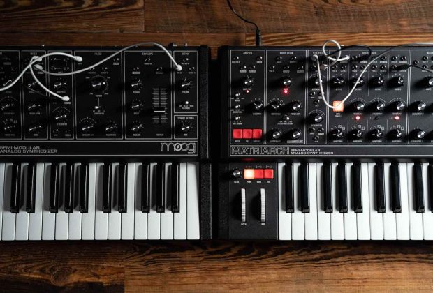 Moog Matriarch Grandmother dark synth hardware midiware music producer strumenti musicali