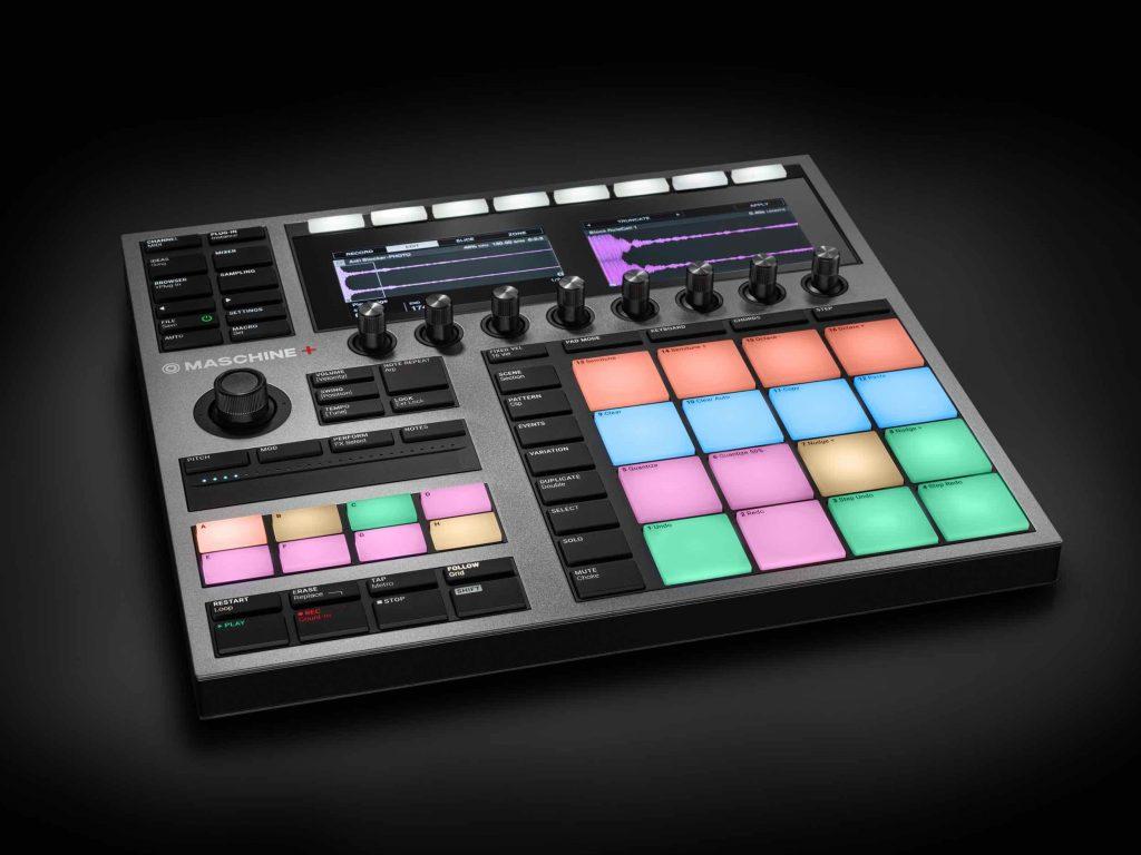Native Instruments Maschine+ hardware producer music dj midi music komplete kontakt strumenti musicali