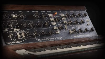 Softube Model 72 Synthesizer System synth sintetizzatore virtuale soft software music poducer midiware minimoog moog strumenti musicali
