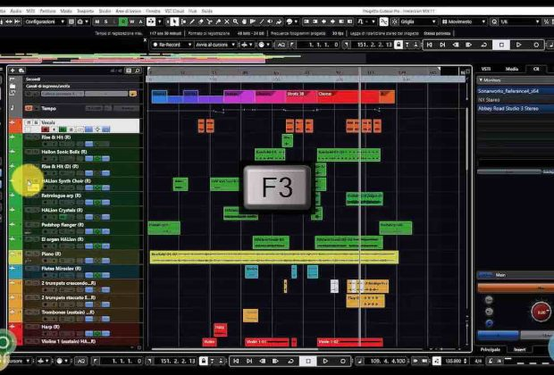 Steinberg Cubase 10.5 mute solo daw software tutorial pierluigi bontempi music producer strumenti musicali