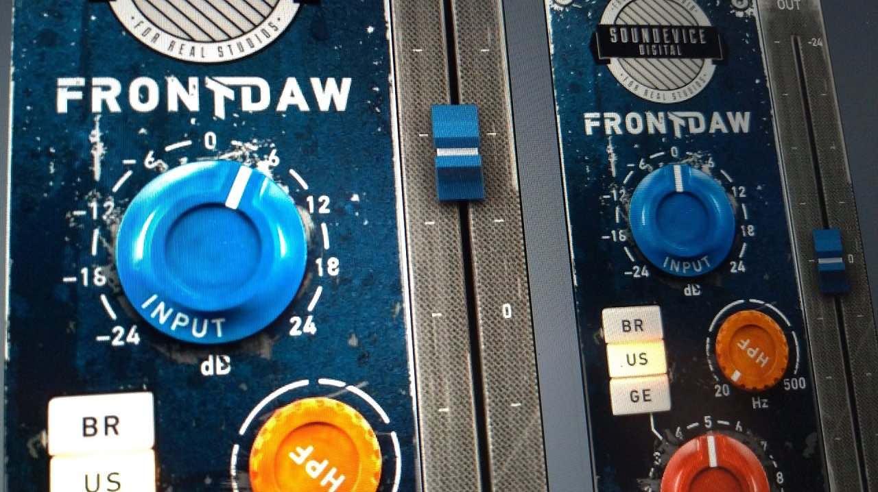 UnitedPlugins FrontDAW 1.6 update aggiornamento fader prezzo mix test audiofader