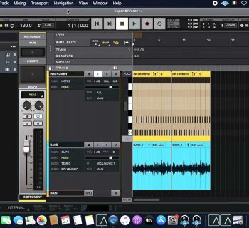 universal audio luna tutorial mixdown export midiware video andrea scansani strumenti musicali