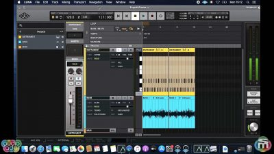universal audio luna tutorial mixdown export midiware video andrea scansani strumenti musicali