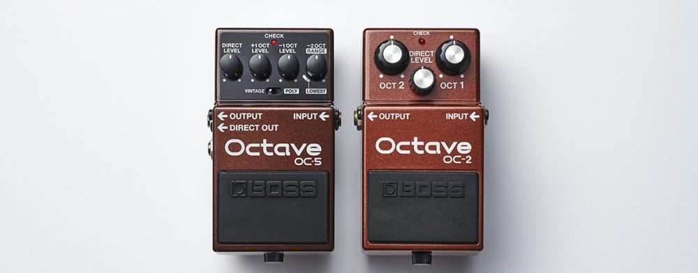 boss octaver oc-5 strumenti musicali